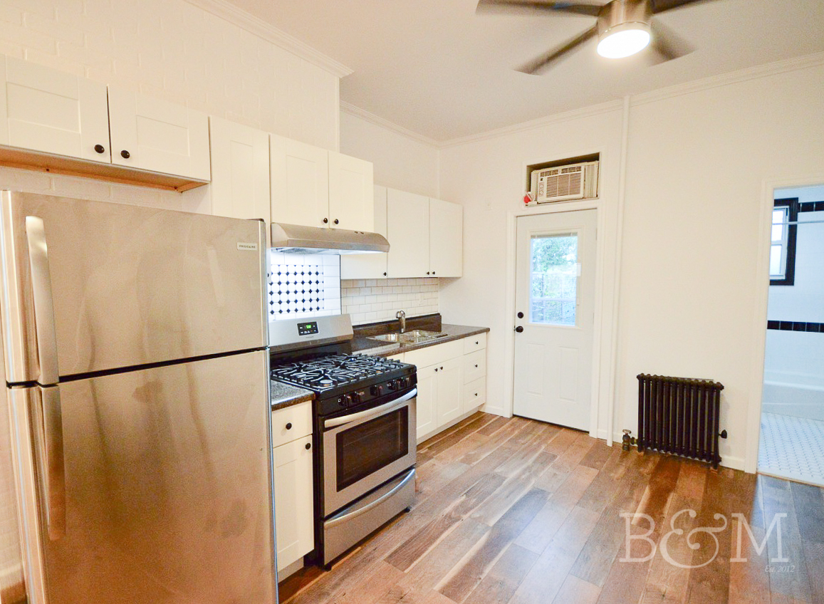 Just Renovated Boxed 2 bedroom with Private Outdoor Space